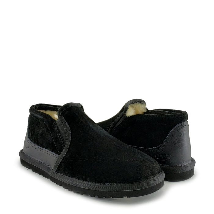 Мужские слиперы UGG Mens Slip-On Tasman II Black