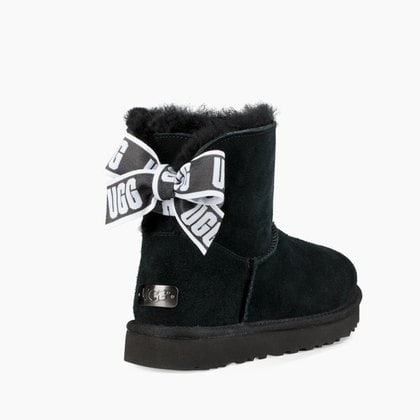 Угги UGG Mini Bailey Bow Customizable Black