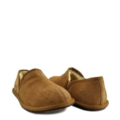 Слипоны UGG Mens Scuff Romeo II Slipper Chestnut