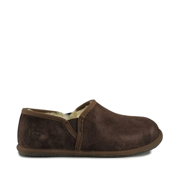 Мужские слиперы UGG Mens Scuff Romeo II Slipper Chocolate