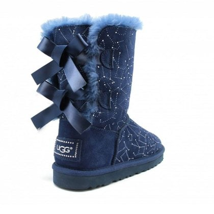 Угги UGG Bailey Bow Constellation Navy