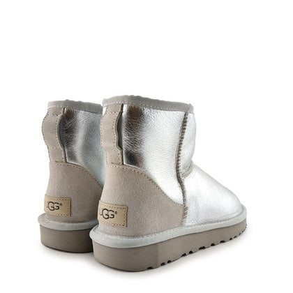 Угги UGG Classic Mini Metallic Silver