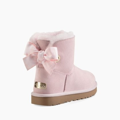 Угги UGG Mini Bailey Bow Customizable Seashell Pink