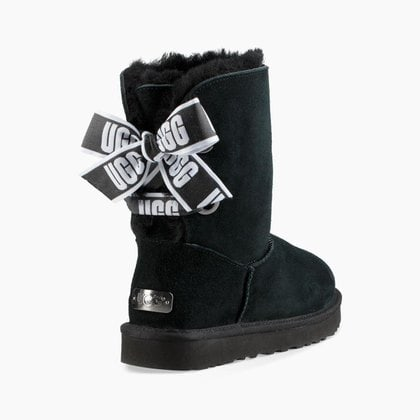 Угги UGG Bailey Bow Customizable Black