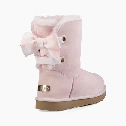 Угги UGG Bailey Bow Customizable Seashell Pink