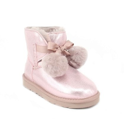 Угги UGG Kids Gita Metallic Pink