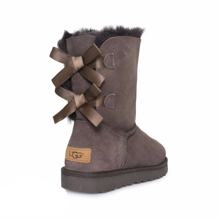 Угги UGG Bailey Bow II Chocolate