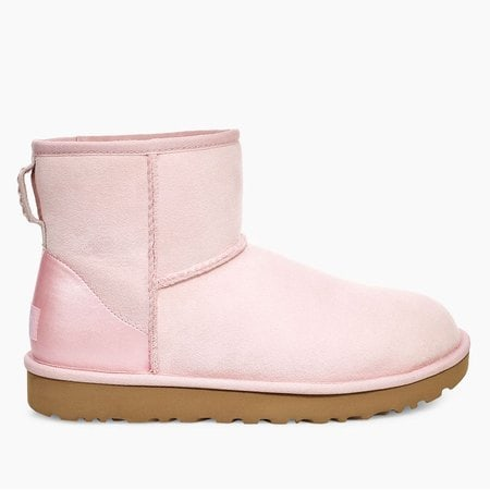 Угги UGG Classic Mini II Metallic Seashell Pink