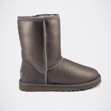 Угги UGG Mens Classic Short Metallic Grey