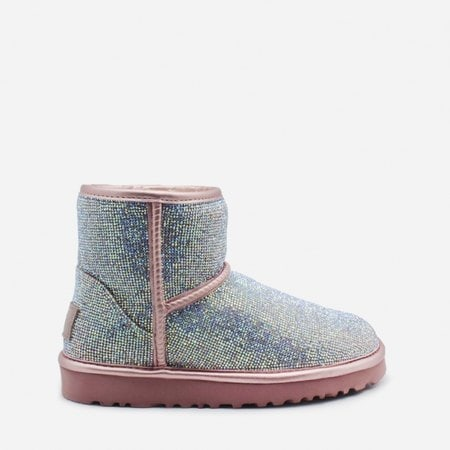 Угги UGG Jimmy Choo Mini Serein II Pink