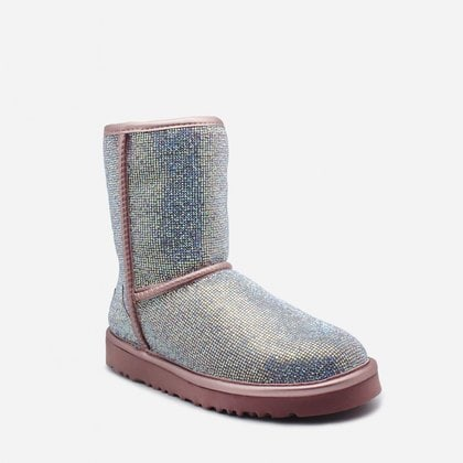 Угги UGG Jimmy Choo Short Serein II Pink