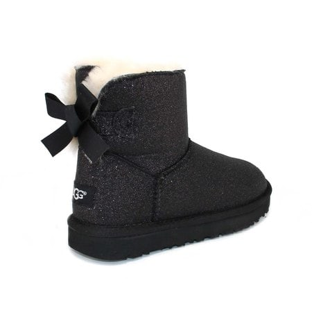 Угги UGG Mini Bailey Bow Sparkle Black