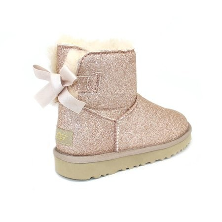 Угги UGG Mini Bailey Bow Sparkle Gold