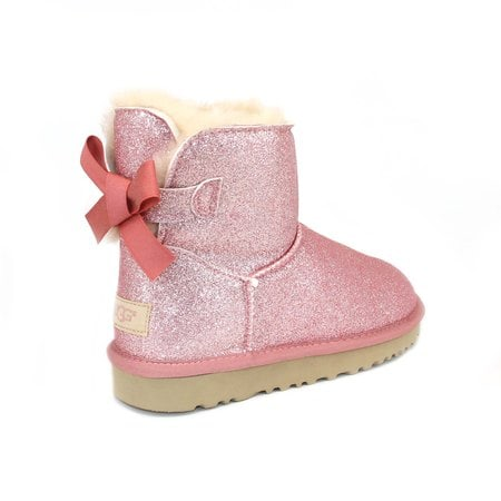 Угги UGG Mini Bailey Bow Sparkle Pink