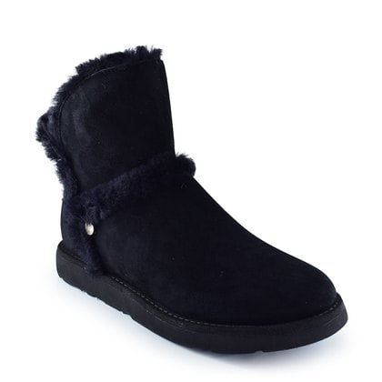 Полуботинки UGG Luxe Spill Seam Mini Boot Black