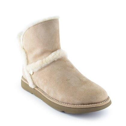 Полуботинки UGG Luxe Spill Seam Mini Boot Fawn