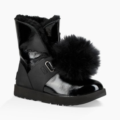 Угги UGG Isley Patent Waterproof Black
