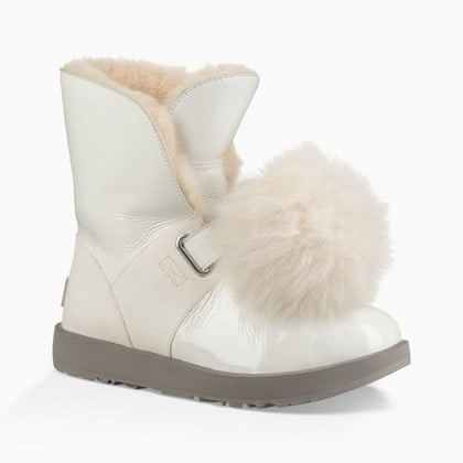 Угги UGG Isley Patent Waterproof White
