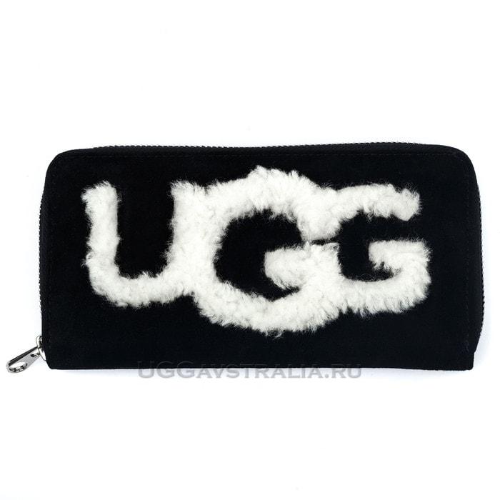 Женский кошелек UGG Wallet Black