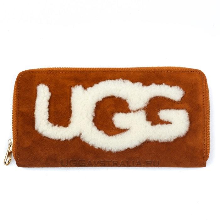 Женский кошелек UGG Wallet Chestnut