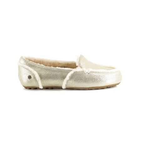 Мокасины UGG Hailey Loafer Platinum Gold