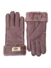Перчатки UGG Classic Glove Chocolate/White