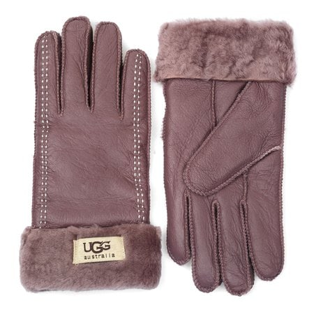 Перчатки UGG Classic Glove Chocolate/White