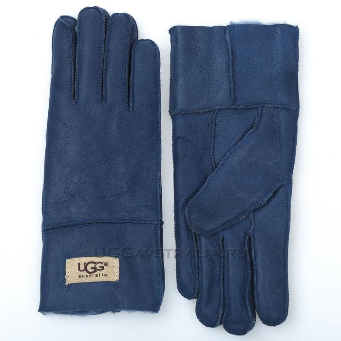 Женские перчатки UGG Classic Glove Dark Blue
