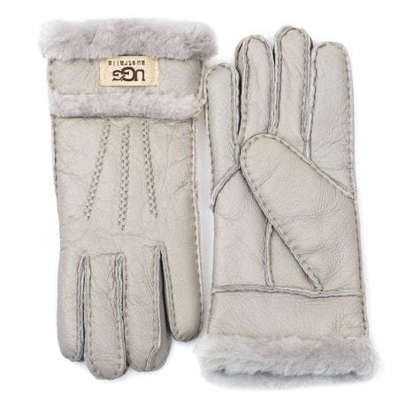 Перчатки UGG Glove Three Rays Light Grey