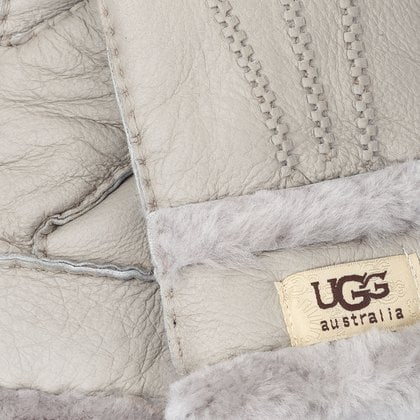 Перчатки UGG Glove Three Rays Light Grey