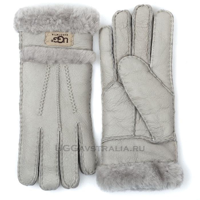 Женские перчатки UGG Glove Tenney Light Grey