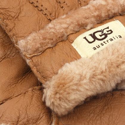Перчатки UGG Glove Three Rays Chestnut