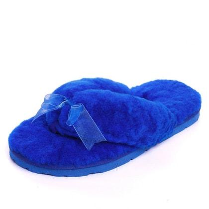 Тапочки UGG Fluff Flip Flop II Blue