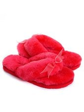 Тапочки UGG Fluff Flip Flop II Watermelon Red