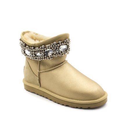 Угги UGG Jimmy Choo Crystals Soft Gold