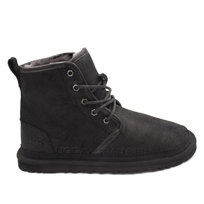 Мужские ботинки UGG Mens Harkley Bomber Black