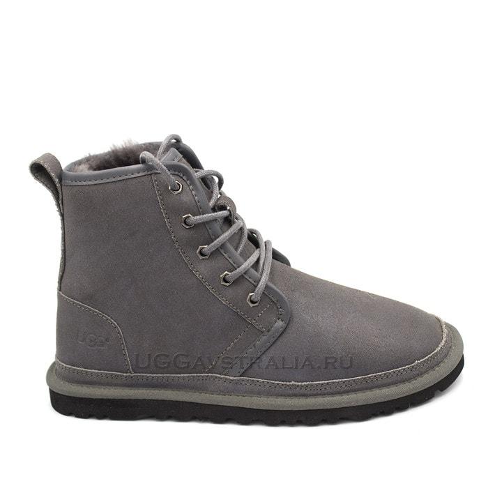 Мужские ботинки UGG Mens Harkley Bomber Grey