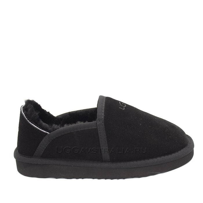 Мужские слипоны UGG Mens Slip-on Kenton Black