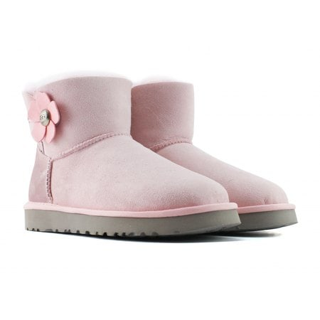 Угги UGG Mini Bailey Button Poppy Boot Pink