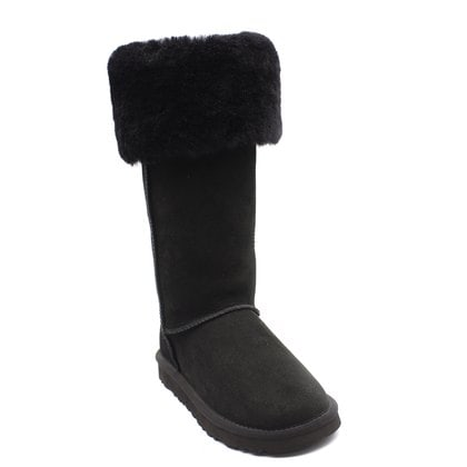 Угги UGG Over The Knee Bailey Button II Black