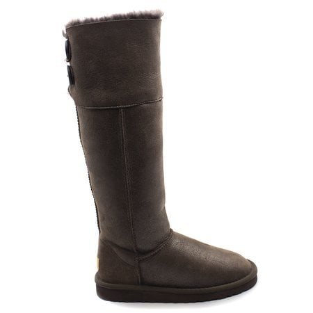 Угги UGG Over The Knee Bailey Button II Bomber Chocolate