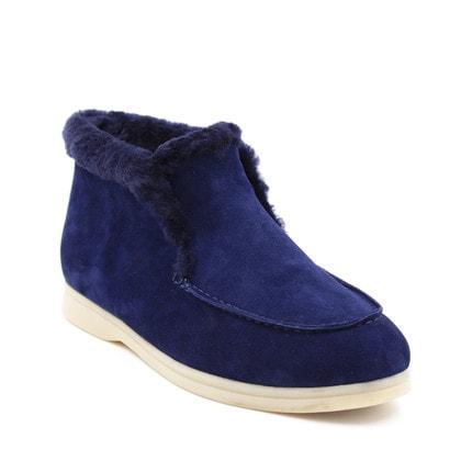 Ботинки Loro Piana Classic Blue