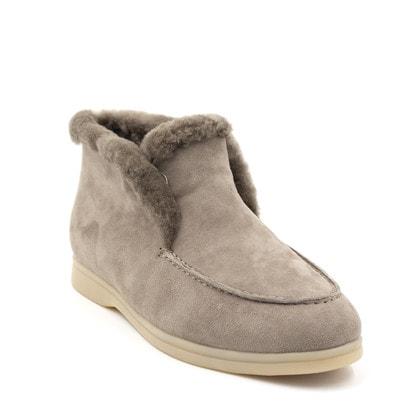 Ботинки Loro Piana Classic Grey