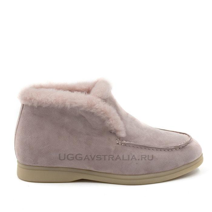 Женские ботинки Loro Piana Classic Pink