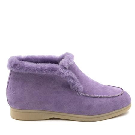 Ботинки Loro Piana Classic Purple
