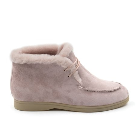 Ботинки Loro Piana Classic Laces Pink