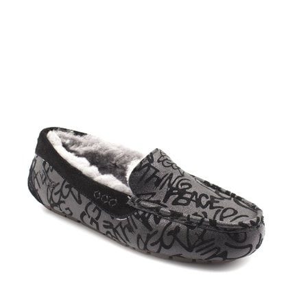Мокасины UGG Ansley Sparkle Graffiti Black