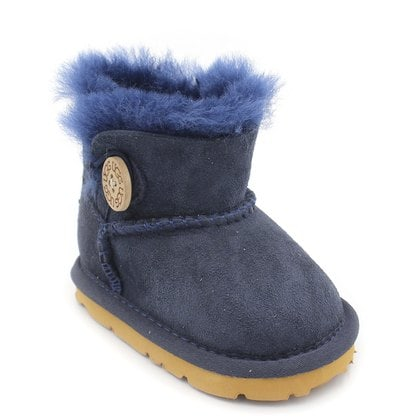 Пинетки UGG Baby Bailey Button Navy