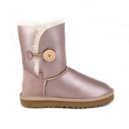 Угги UGG Bailey Button Metallic Pearl