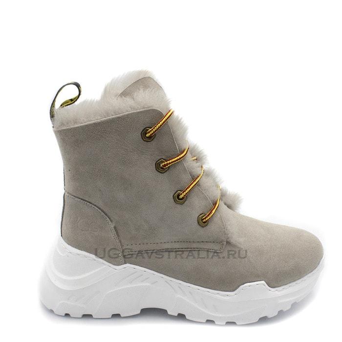Женские ботинки UGG Bouncing Soles Grey